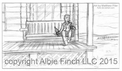 Albie Finch Storyboard by Flyler
