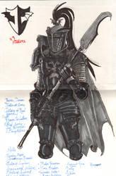 Armor Sketch by DamonVonBohn