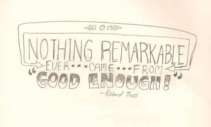 Nothing Remarkable by DamonVonBohn