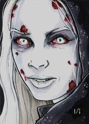 Kristin Kruek Vampire by Christopher-Manuel