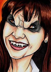 Angie Tribeca Vampire by Christopher-Manuel