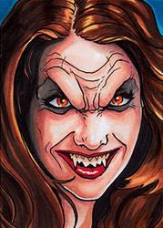 Bela Talbot Vampire by Christopher-Manuel