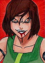 Korra Vampire by Christopher-Manuel