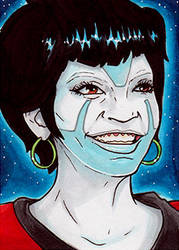 Uhura Thaw Clown by Christopher-Manuel