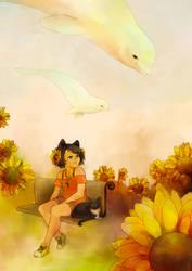 It was in summer... by Rozenng