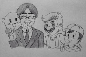 For Mr. Iwata. by ReereeandWally101