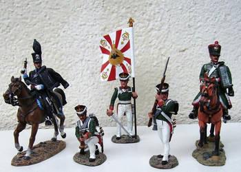 Hussard de Brunswick, infanterie russe, et... by General-Custer