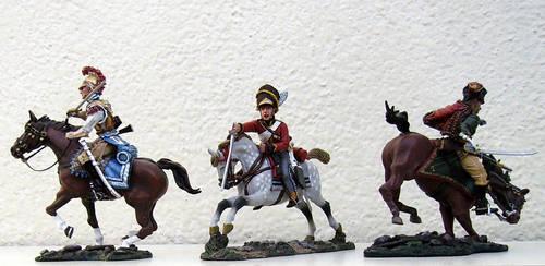 Waterloo 1815 cavalry (7) by General-Custer