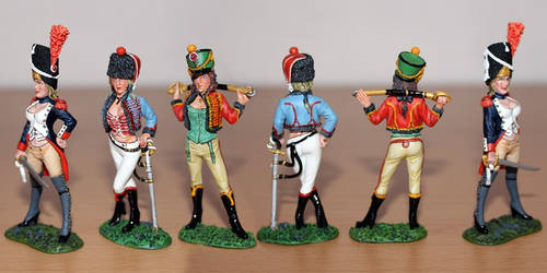 Napoleonic pin-ups (1) by General-Custer