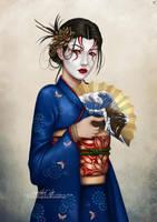 Commission: Kuni Sango by barn-swallow