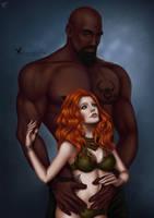 Commission: Kieran and Dariuzz by barn-swallow