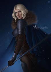 Gift Art: Ewa by barn-swallow
