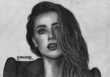 Amber Heard by Shakkhar