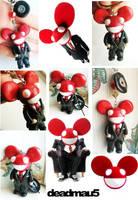 deadmau5 charm commission by mayumi-loves-sora