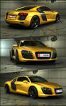 Audi-R8 by ALBarazengi