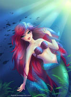 Ariel- Under the Sea by LilaCattis