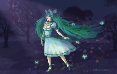 Miku Hatsune - Inspiration by LilaCattis