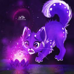 Purple Lotus by LilaCattis