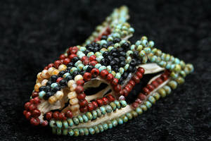 Beaded Skull by WindsweptHells