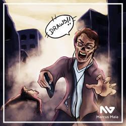 Zombie Apocalypse by marcusagm