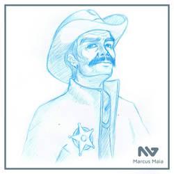 Sheriff - Cowboy by marcusagm
