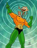 Aquaman and Flapjack Adventure by PrimeOp