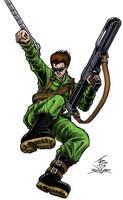 Bionic Commando - NES by PrimeOp