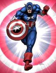 Capt. America 1 by PrimeOp