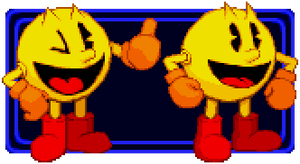 Pac-Man sprites, v.2 by PrimeOp