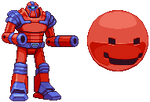 Berzerk Robot and Evil Otto sprites by PrimeOp