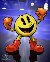 Pac-Man 2016 by PrimeOp