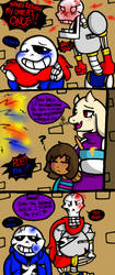 Fight for Pie (Undertale) by YaoiLover113