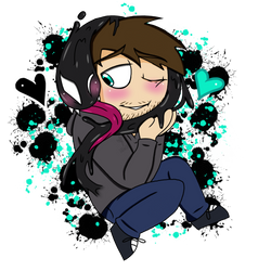 Goopy Snuggles (SymBrock) by YaoiLover113