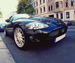 Black Cat - Jaguar XKR Cabriolet by theTobs