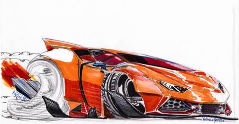 Lamborghini Huracan Toon by theTobs