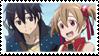 SAO: Kirito and Silica by TickleMeFrosty