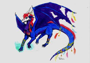 Shaman dragon by YukinaCZ
