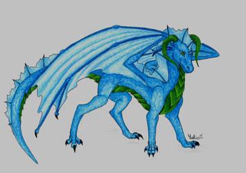 Niall dragon by YukinaCZ