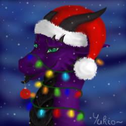 Yukio's Christmas icon by YukinaCZ