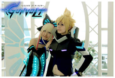 Gunvolt x Lumen by JewelMaiden