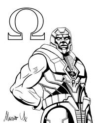 Injustice 2 Darkseid Inked by MarioUComics