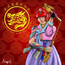 Kim Wu Lunar New Year 2019 by MarioUComics