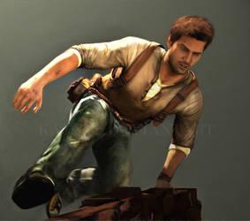 Uncharted 2: Nathan Drake by Kajual