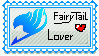 My first Stamp :) Fairy Tail Lover by Ookamis-Wolves