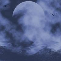 Dark Sea Background by Junk-stock