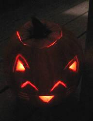 Kitty Pumpkin by ongaku88