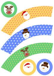 seasonal Cupcake Wrapper by F-A
