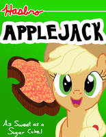 Applejack Cereal by verycoolguy