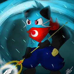 Razor the Dewott by Predu92