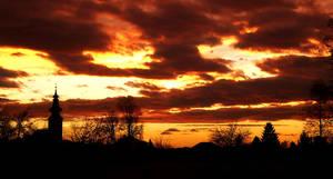 moody sky by Evey90